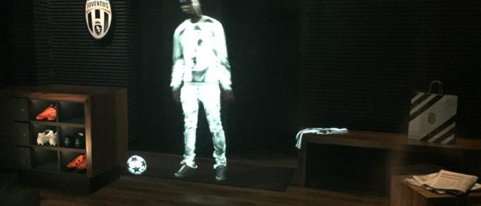 pantalla holografica