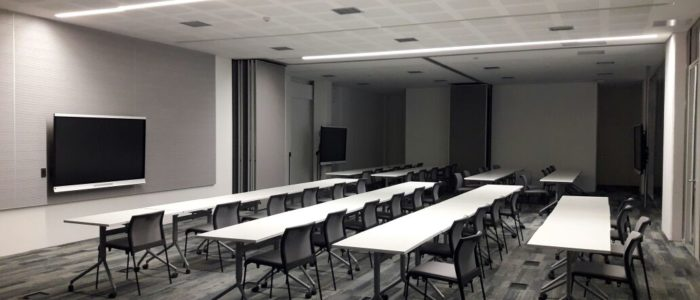 sistema de audio para sala de reunion