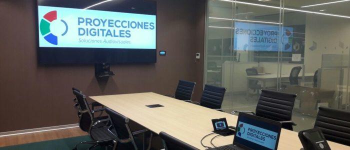 sistema profesional de audio para sala de reunion en Buenos Aires