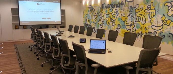 sistemas de audio para sala de reunión en Buenos Aires