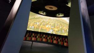 Mapping en el Museo DSF